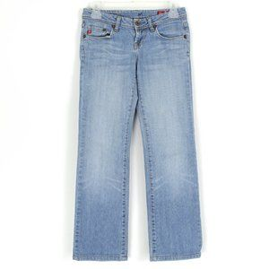 Seven7 Womens Jeans Bootcut Blue 25 AY